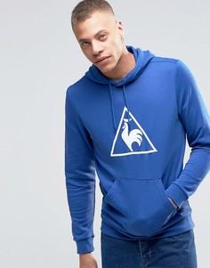 Худи с логотипом-треугольником Le Coq Sportif - Синий