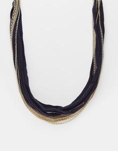 Ожерелье с бусинами Design B - Золотой