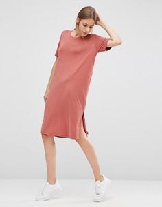 Платье-футболка Just Female - Красный