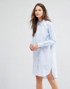 Платье-рубашка Gestuz - Синий