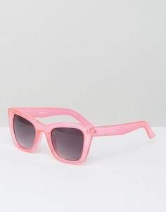 Солнцезащитные очки в розовой оправе Jeepers Peepers - Розовый