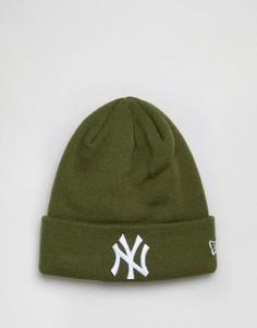 Шапка-бини New Era NY Yankees - Зеленый