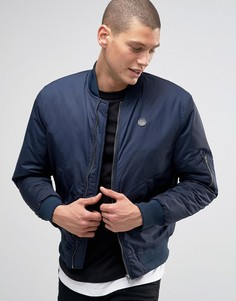 Куртка-пилот Le Breve MA1 - Темно-синий