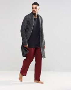 Тканые штаны для дома классического кроя Calvin Klein - Красный