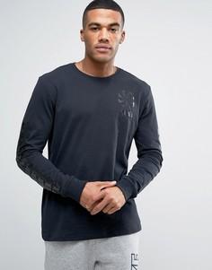 Черный лонгслив Nike Legacy 806288-010 - Черный