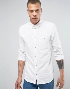 Фланелевая рубашка Weekday Delta - Белый