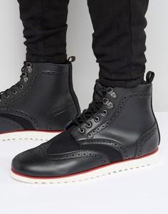 Ботинки-броги D-struct - Черный