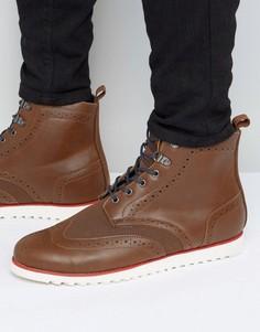 Ботинки-броги D-Struct - Рыжий