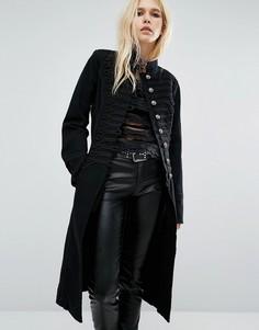 Длинная куртка Tripp NYC - Черный