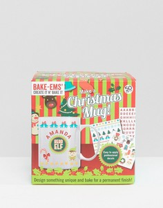 Новогодняя кружка своими руками Bake Ems Make A Christmas - Мульти Gifts