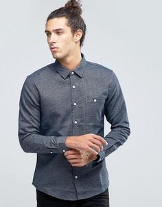 Фактурная рубашка Threadbare - Синий