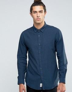 Рубашка в стиле casual от Threadbare - Синий