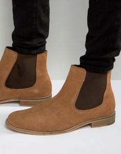 Замшевые ботинки челси Dune - Рыжий