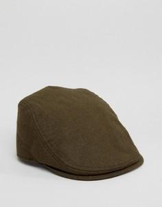 Плоская кепка оливкового цвета Goorin Mikey Ivy - Зеленый