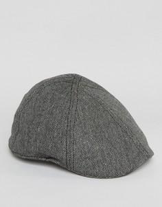 Черная плоская кепка Goorin Bushwick - Черный