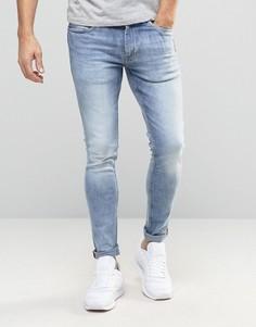 Зауженные джинсы Ringspun - Синий