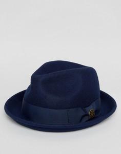 Темно-синяя фетровая шляпа Goorin Good Boy - Темно-синий
