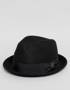 Черная фетровая шляпа Goorin Good Boy - Черный