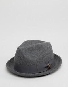 Серая фетровая шляпа Goorin Good Boy - Серый
