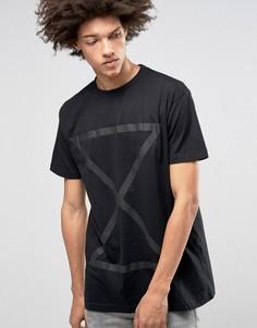 Oversize-футболка Long Clothing Chronology - Черный