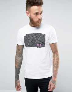 Черная футболка узкого кроя со звериным принтом Paul Smith - Черный