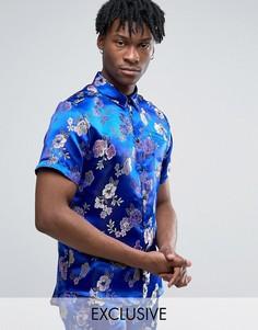 Рубашка классического кроя Reclaimed Vintage - Синий