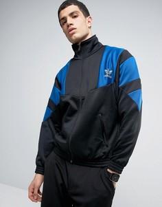Спортивная куртка на молнии adidas Originals - Черный