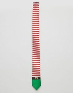 Галстук SSDD Elf - Зеленый