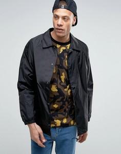 Тренерская куртка Weekday Bob - Черный
