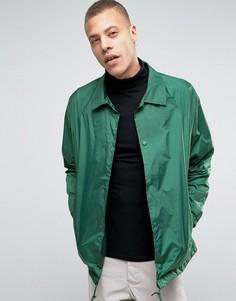 Тренерская куртка Weekday Bob - Зеленый