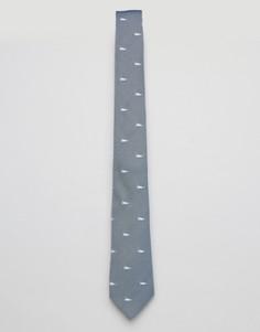 Галстук с принтом уток Original Penguin - Темно-синий