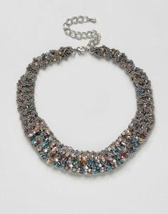 Ожерелье в винтажном стиле Nylon - Золотой