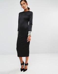 Платье с круглым вырезом Asilio Pearler - Черный