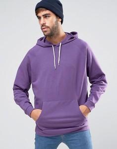 Фиолетовый oversize-худи ASOS - Фиолетовый