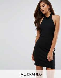 Платье мини с халтером Missguided Tall - Черный