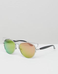 Солнцезащитные очки-авиаторы 7X - Черный