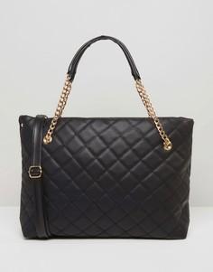 Стеганая сумка 7X - Черный
