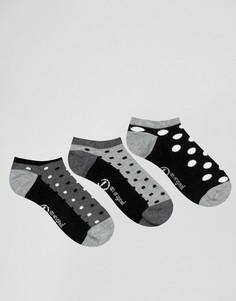 Набор из 3 пар носков для кроссовок Pengiun - Черный Penguin