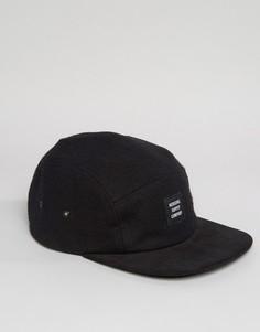 Черная шерстяная кепка Herschel Supply Co Glendale - Черный