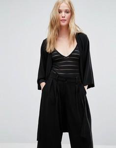 Пиджак в стиле кимоно Gestuz Hanna - Черный