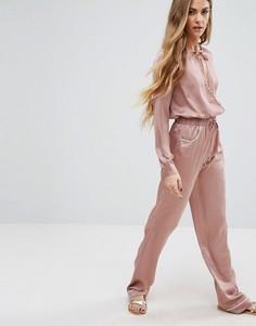 Комбинируемые брюки с широкими штанинами Young Bohemians - Розовый