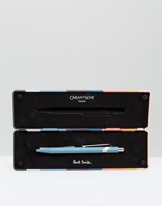 Синяя шариковая ручка Paul Smith & Caran dAche - Мульти