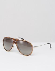 Солнцезащитные очки-маска Carrerra 87/S - Коричневый Carrera