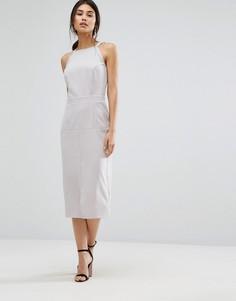 Платье-сарафан миди Alter - Серый