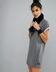 Платье-футболка из махровой ткани Under Armour - Серый