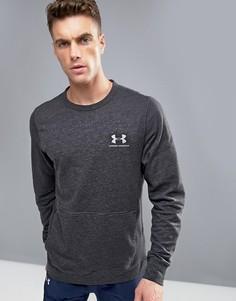 Черный технический свитер Under Armour Triblend - Черный