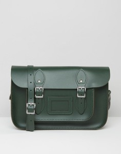 Портфель Leather Satchel Company 12.5 - Зеленый