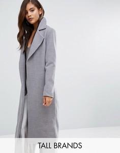 Удлиненное легкое пальто Missguided Tall - Серый