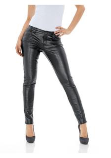 Кожаные брюки PATRIZIA DINI