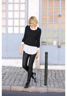 """Пуловер """"2 в 1"""" Laura Scott"""